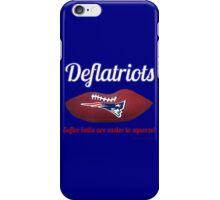 Deflatriots iPhone Case/Skin