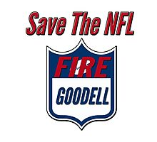 Fire Roger Goodell Photographic Print