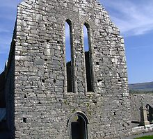 Corcomroe Abbey ruins by John Quinn