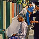 The Barber by Eileen McVey