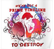 Community: Evil Jeff & Evil Annie The Darkest Timeline Poster