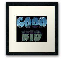 Kendrick Lamar Good Kid Framed Print