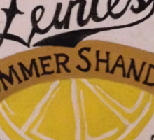 Summer Shandy bottle cap Sticker