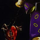 And The Joker Strings Along the Heart of The Fool by helene ruiz