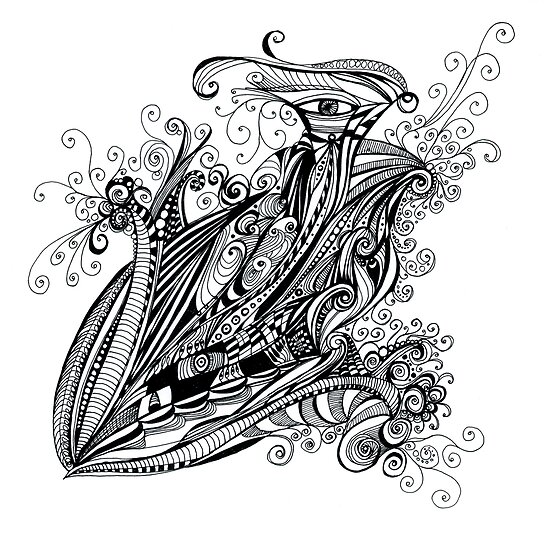 doubleye sketch by pentangled