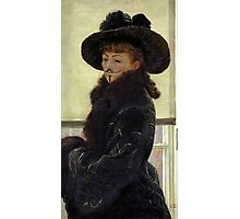Portrait of Kathleen Anonymous -  James Tissot, 1877 Photographic Print