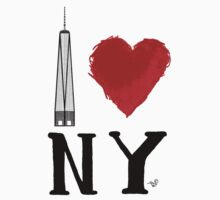 I Love NY Freedom by Tai's Tees Kids Clothes