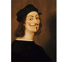 Anonymous Self-Portrait - Raffaello Sanzio da Urbino, 1506 Photographic Print