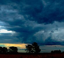 Stormy Clouds over Digger's Rest by haymelter