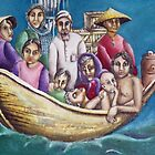 Boat People by Penny Lewin - Hetherington