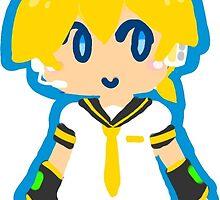 Chibi Len by Keikuroneko