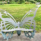 Butterfly Bench by Monnie Ryan