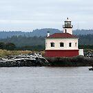Lighthouse at Bandon, Oregon by Kimberly Johnson