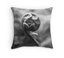 Tree Fern Fond Throw Pillow