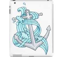 Ocean Wave Anchor iPad Case/Skin