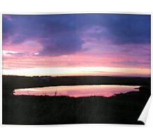 The Lochan - Isle of Lewis Poster
