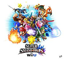 Super Smash Bros. for Wii U [Full Art] Photographic Print