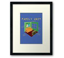 Family Unit Framed Print