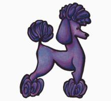 Purple Poodle Doodle Kids Clothes