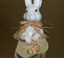 easter bunny by jon  daly