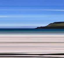 Calgary Bay, Isle of Mull by bluefinart