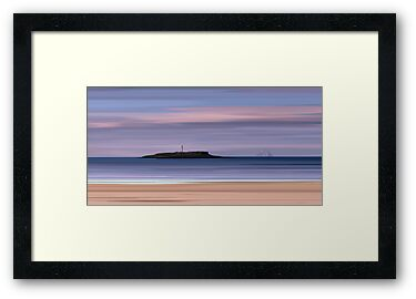 Kildonan Beach Dawn, Isle of Arran by bluefinart