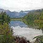 Lake Matheson by Harry Oldmeadow