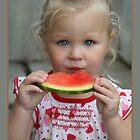 I Love Watermelon by Cargomom