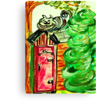 Outhouse Sentinel Canvas Print