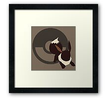 Eevee - Sunset Shores Framed Print