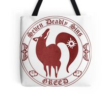 Fox, The Greed Tote Bag