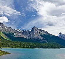 MALIGNE LAKE by Sandy Stewart