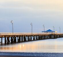 Pier at Morning Light by Silken Photography