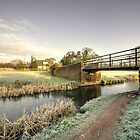 Ayshford Bridge Winter  by Rob Hawkins