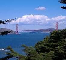 Golden Gate Bridge by amira