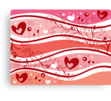 Valentine Fantasy Canvas Print