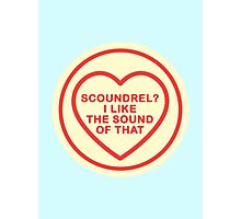 Geeky Love Hearts - Scoundrel Photographic Print