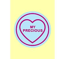 Geeky Love Hearts - Precious Photographic Print