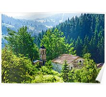 The Village Church - Impressions of Mountains and Forests Poster