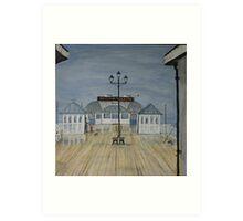 Cromer Pier, Norfolk UK   Wet summer!!! Art Print