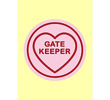 Geeky Love Hearts - GateKeeper Photographic Print
