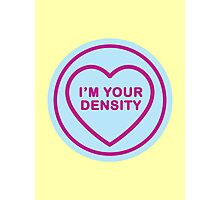 Geeky Love Hearts - Density Photographic Print