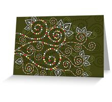 Ethnic Dreams Greeting Card