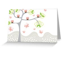 Cupcakes Tree Greeting Card