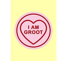 Geeky Love Hearts - Groot Photographic Print