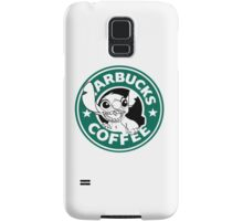No more coffee for you - Stitch Starbucks logo Samsung Galaxy Case/Skin