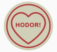 Geeky Love Hearts - Hodor by SevenHundred