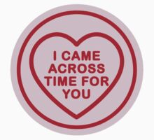 Geeky Love Hearts - Time Kids Clothes