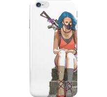 sitting waiting iPhone Case/Skin