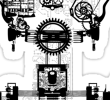 Ghost In The Machine Sticker